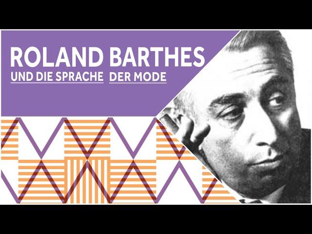 Philosophisches Gespräch: Roland Barthes. Der verliebte Leser