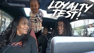 I Talked BAD About My SON Woo Wop To Brittany And My Mama To See They'll Tell Him | Loyalty Test