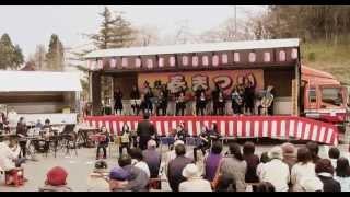 いわて久慈春まつり 25/4/29 岩手県久慈市の中学校吹奏楽部の演奏です.