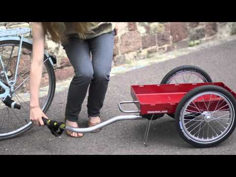 fahrradwohnwagen fahrradanh nger trailer wohnwagen. Black Bedroom Furniture Sets. Home Design Ideas