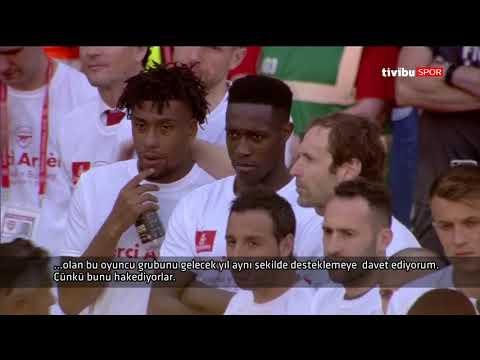 Arsene Wenger'in Veda Konuşması