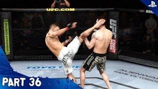 EA Sports UFC - Walkthrough - Part 36 - Career | Pip Kelly (PS4 HD) [1080p]