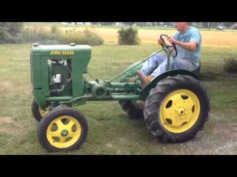 1938 Hand Crank John Deere L Tractor, Auction August 2nd 20