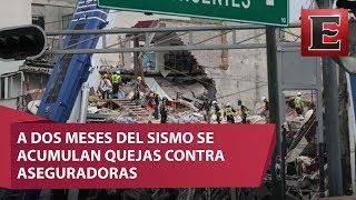 Sólo se han resuelto 55 de 187 quejas tras sismo del 19S thumbnail