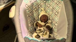 Micro Preemie Silicone Baby Cola & Jovana in the nursery