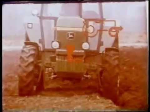John Deere tractor HFWD Hydraulic Front Wheel Drive - YouTube