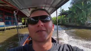 Рынок на воде Тайланд Damnoen Saduak
