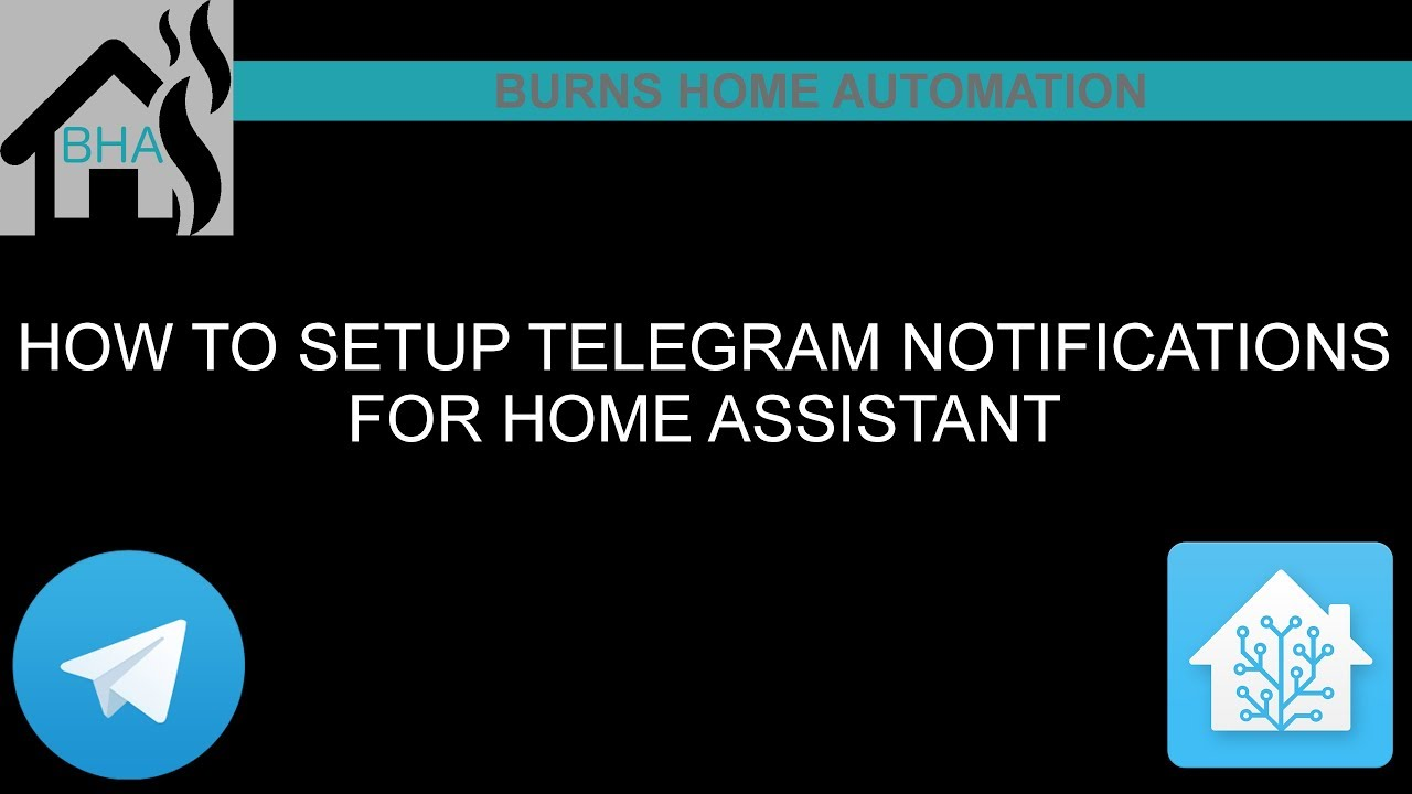 How to setup Telegram notifications for Home Assistant