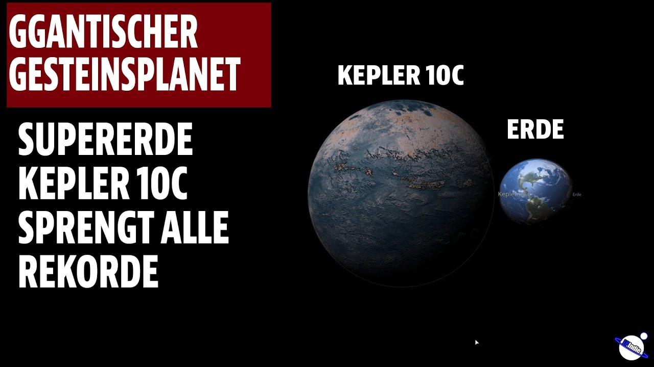 Gigantischer Gesteinsplanet - Supererde Kepler 10c sprengt alle Rekorde