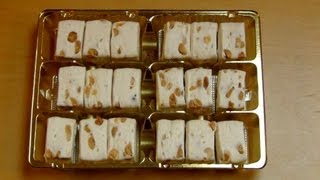 White Soft Nougat with Peanuts [Becky