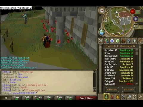 Owning Noobs On Runescape Pt 1