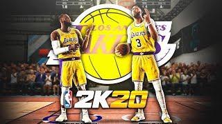 99 OVR LEBRON JAMES & ANTHONY DAVIS DOMINATE the RUSH 2v2 EVENT in NBA2K20