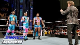 The New Day casts a shadow over Y2J: SmackDown, Jan. 21, 2016