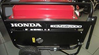 Хонда/Honda ECMT 7000 трехфазный бензиновый генератор(, 2016-04-19T10:01:09.000Z)