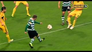 1/4 финала Лиги Европы. Металлист - Спортинг. 1-1