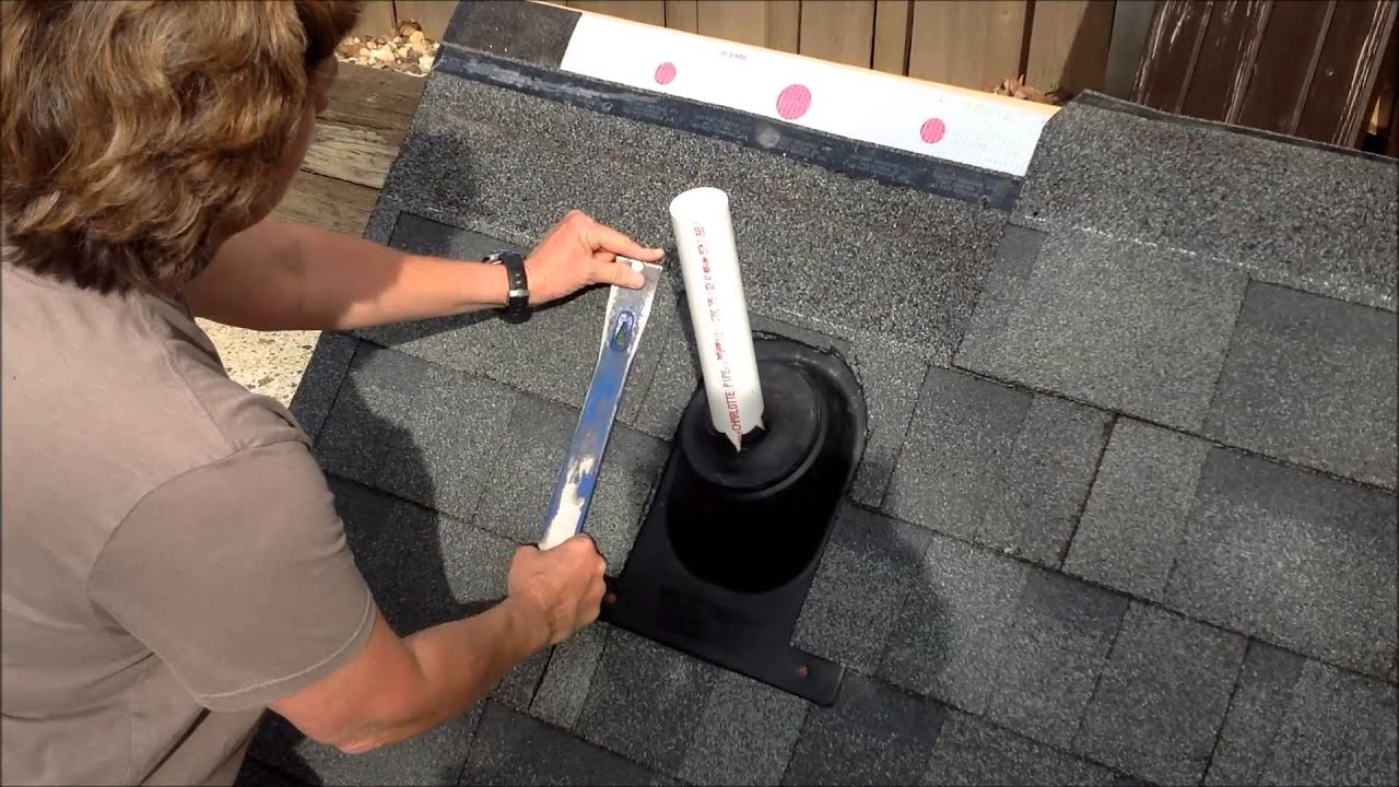 How To Replace A Plumbing Boot Youtube