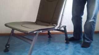 Кресло раскладное для рыбалки Elektrostatyk-M F8 обзор.