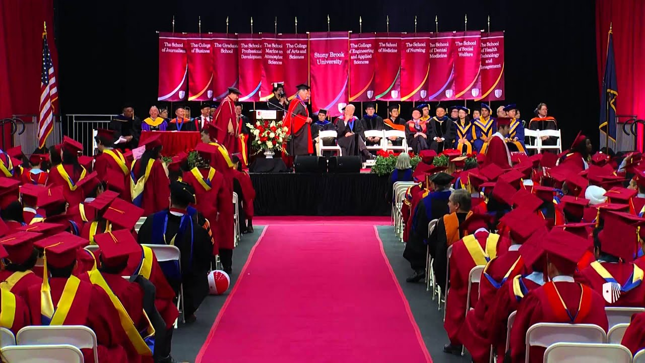 Stony Brook University Engineering and Applied Sciences Convocation, May 22, 2015