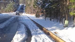 First North Carolina Snow Of 2017