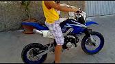 andrea scalia & friends con pitbike motocross 125cc - youtube