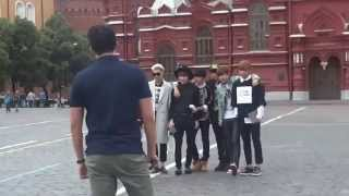 140615 BTS in Russia Moscow Kremlin