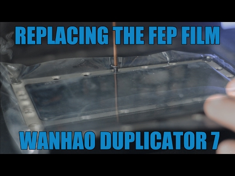 How To Replace FEP Film On LCD Resin Printer