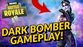DARK BOMBER Skin Gameplay In Fortnite Battle Royale
