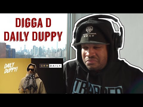 HARLEM NEW YORKER REACTS to UK RAPPER! Digga D – Daily Duppy | GRM Daily