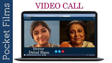 Bangla Short Film - Video Call | Mother And Daughter | Webcam Chat