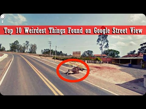 Top 10 Weirdest Things Found on Google Street View