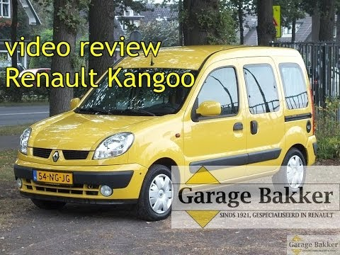 Video review Renault Kangoo 1.6 16v Privilège, 2003, 54-NG-JG