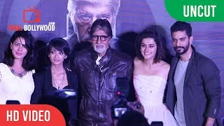UNCUT -  PINK | Official Trailer Launch | Amitabh Bachchan | Shoojit Sircar | Taapsee Pannu