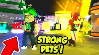 CAPTURE THE FLAG and NEW PETS in Roblox Saber Simulator!