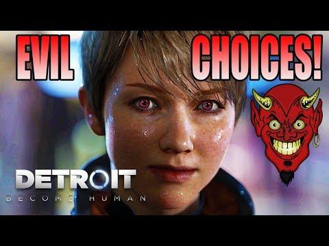 EVIL CHOICES! Detroit: Become Human (#1)