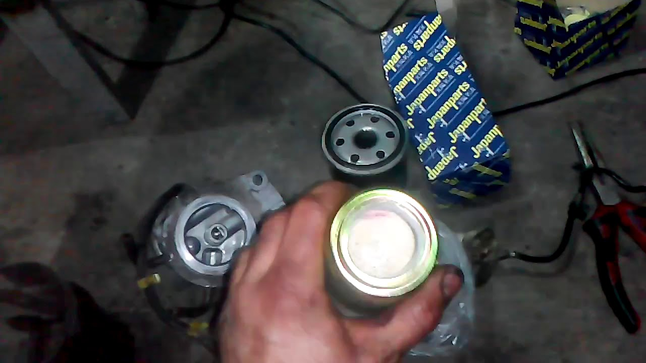 MAZDA 6 2.0 CiTD HOW TO REPLACE FUEL FILTER - YouTube YouTube