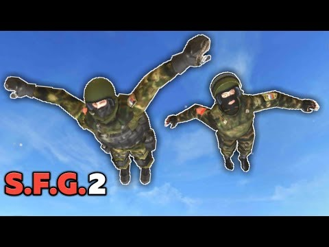 КАК ЛЕТАТЬ В SFG 2 ОНЛАЙН / HOW TO FLY IN SFG 2 ONLINE SPECIAL FORCES GROUP 2 | EENFIRE