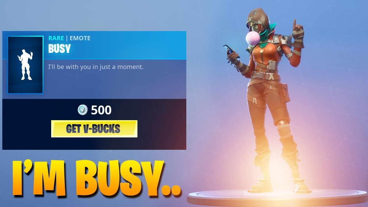 how to fix busy on fortnite