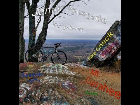 Jamis Renegade Exploit Bike Check on Mount Currahee in north Ga