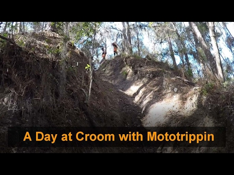 Croom: A day of Hills at Croom with Mototrippin; Looking for Punishment on Hills.