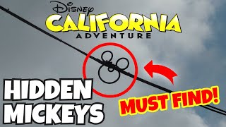 Top 10 Best HIDDEN MICKEYS At Disney California Adventure