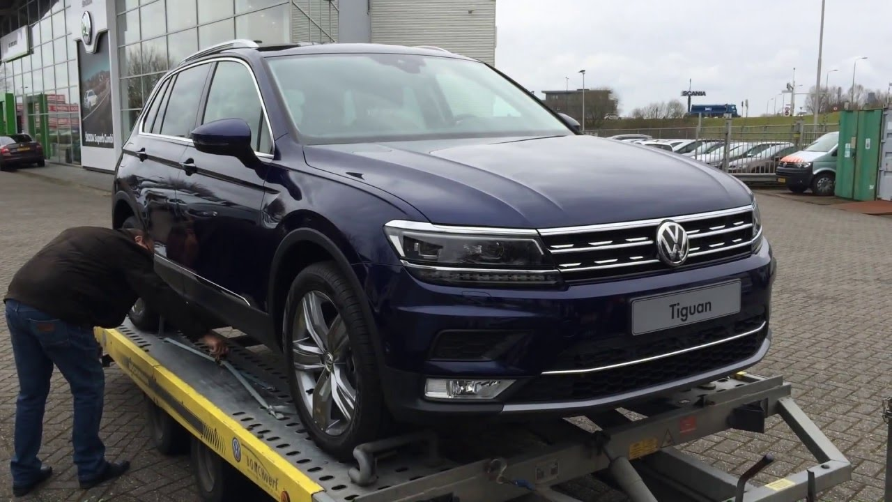 Brand new Volkswagen Tiguan Deliverd - YouTube