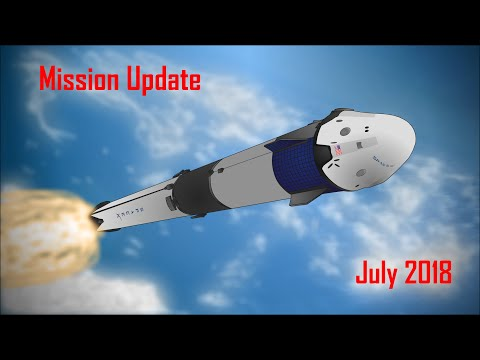 Mars Mission Update: July 2018