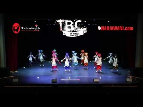 Gabru Chel Chabileh (GCC) at TBC 2014 (The Bhangra Competition) - 1st place