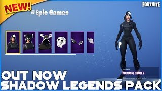 NEW SHADOW LEGENDS PACK - 7 SQUAD WINS TO 1800 - FORTNITE