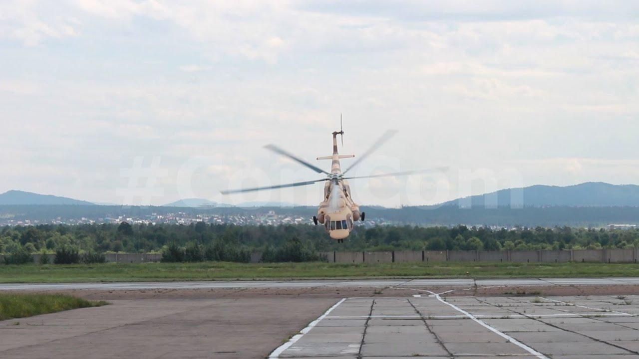 Trực thăng Nga biểu diễn cho đoàn Việt Nam