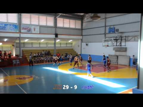 JIS vs CHMS - Full Game | BBA Cup U17 Basketball 2015