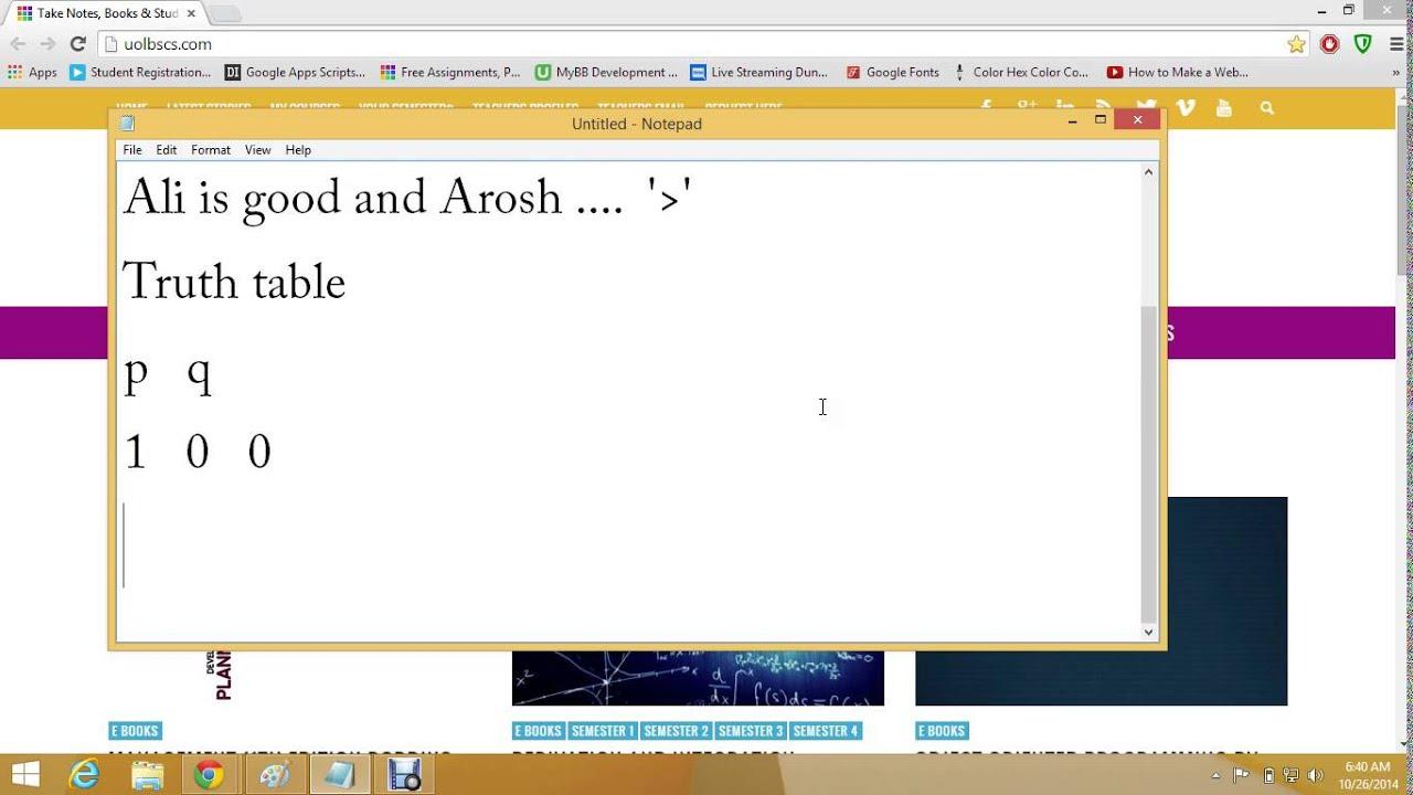 Discrete Mathematics Tutorials in Urdu - 2 - YouTube