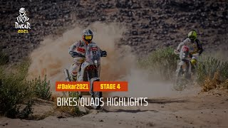 #DAKAR2021 - Stage 4 - Wadi Ad-Dawasir / Riyadh - Bike/Quad Highlights