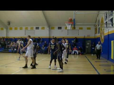 Highland View Academy (Navy Blue) Vs.  Broadfording Christian Academy (White)