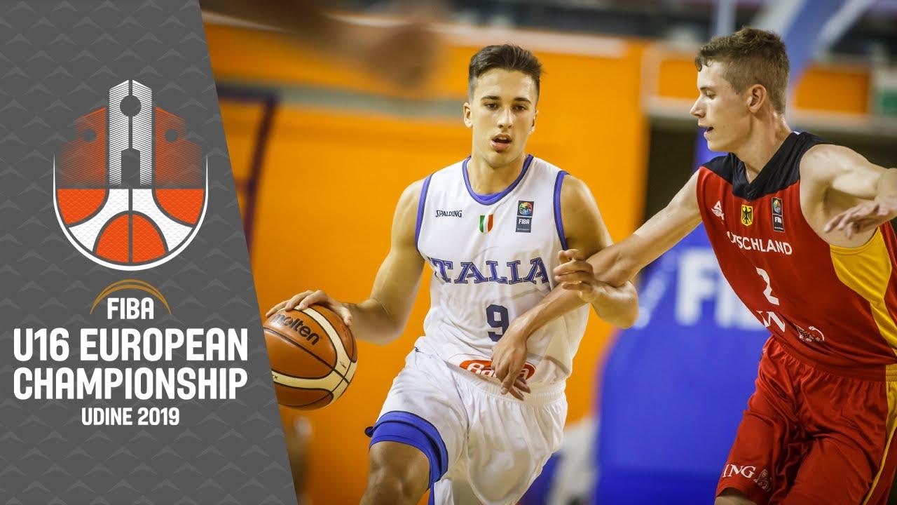 Italy v Germany - Full Game - FIBA U16 European Championship 2019